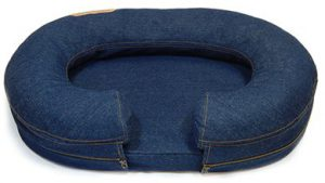 KEPP Chad Collection in Denim with white wood frame