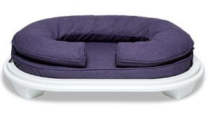 KEPP Cody Collection in Black Currant with white wood frame