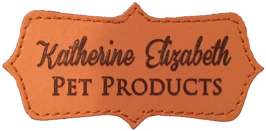 Katherine Elizabeth Pet Products Leather Patch